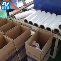 customized good quality pallet wrap stretch film LLDPE plastic packaging roll film