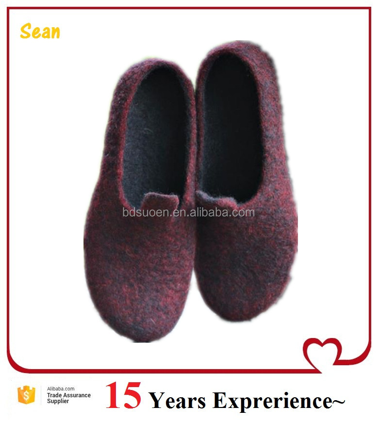 New Modal Felt Sole Shoes for Home Occation
