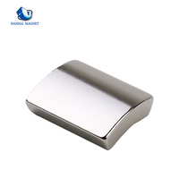 Iso Certification Cheap Price N35 Curved Strong Motor Neodymium Magnet