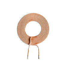 1 LAYER 6.3UH 13A Solenoid Inductor Flat Coil 220v 24v with UL Certificate
