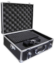 Small Aluminum Hard Case With Extra Protected Foam For Cameras, Camcorders, Photo / Video and Photograpic Equipment