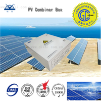 Solar Power 4 String PV Combiner Box