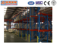 Industrial Warehouse Drive - in Bin Pallet Racking System China Manufacture