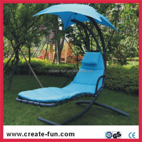 CreateFun adult use camping hammock swing chair with canopy
