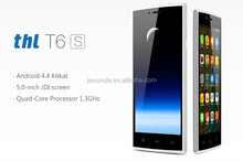 "2014 New Original THL T6S Quad Core Android 4.4 Smartphone 5.0"" IPS 1GB RAM 8GB ROM GPS MTK6582M"