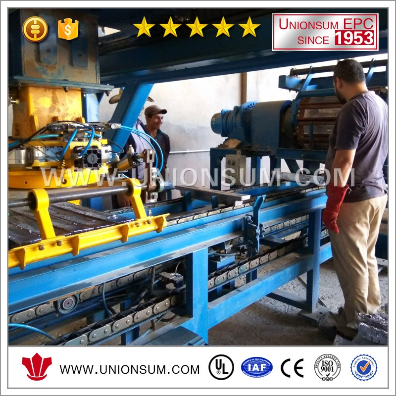 Tailor Made Lead Ingot Casting Machine With Stacking Robot