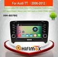 HIFIMAX Android 6.0 car dvd gps navigation For Audi TT MK2 car radio dvd 32GB OCTA-core With Capacitive Screen 1080P