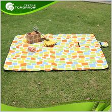 Latest cheap waterproof printed turkish picnic blanket throw
