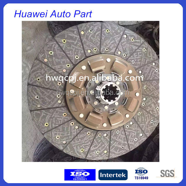 higher bus chassis spare parts seco clutch disc