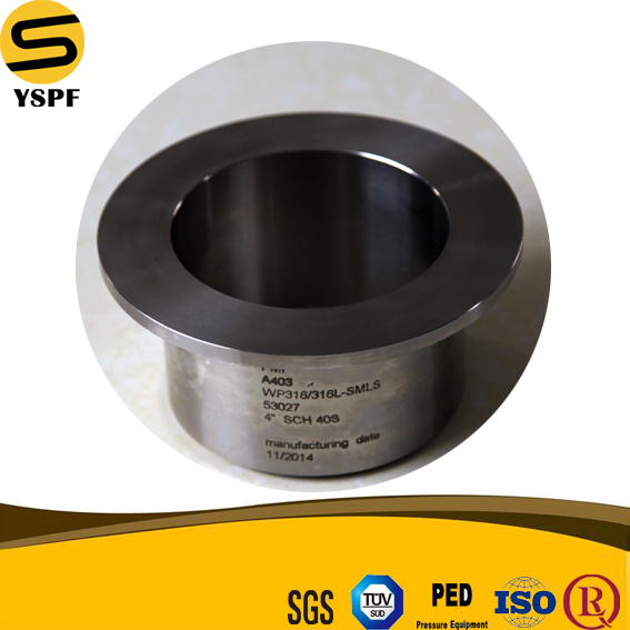 High quality stainless steel pipe fittings stainless steel lap joint flange stub ends