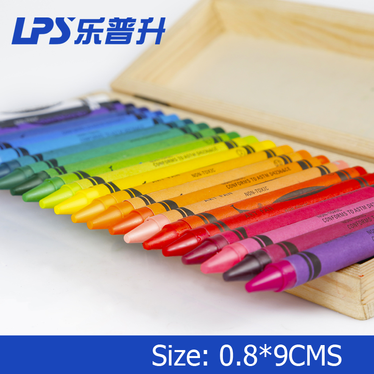 Wax Pencil Crayon For Children Non Toxic Silky Wax Crayon Pen Bulk