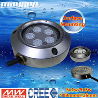 stainless steel submersible underwater fish tank light led