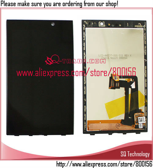 Black <strong>color</strong> mobile parts lcd for <strong>BlackBerry</strong> <strong>Z10</strong> 3G lcd touch screen digitizer