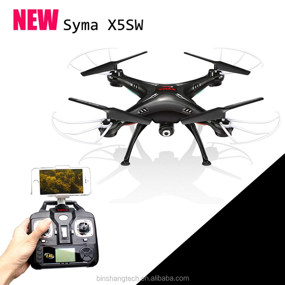 Kids Toy Aeroplane X5SW-1 HD Camera FPV with Headless Mode 360 degree eversion RC Drone Toy