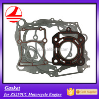 zs250 motorcycle engine parts man cylinder head gasket