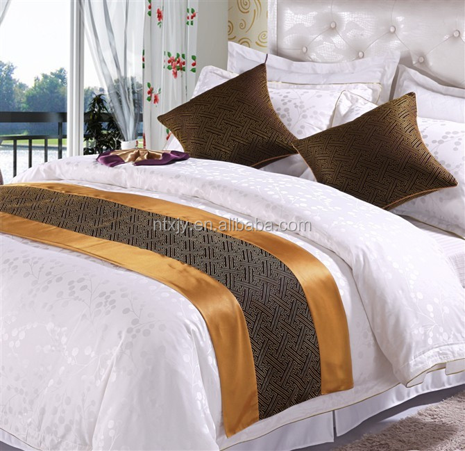 Jacquard Bed Scarf And Bed Runner For Hotel Use Buy Bed