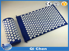 Acupressure Mat and Pillow Set - Stimulate Nerves Increase Blood Flow - More Energy and Less Stress
