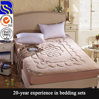 New design soft easy care 100% cotton modern bedspread