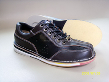 fashion private full leather bowling shoe