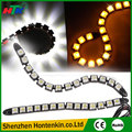 2pcs White 14 LED Long Strip Daytime Running Light DRL Car Fog Day Driving Lamp
