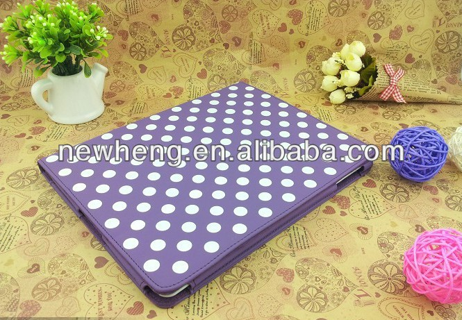 For iPad 2 3 4 Case Flip Cover Stripe Wallet Leather Case Pouch Case