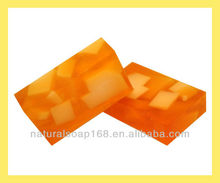natural sour orange soap with olive oil ,essential oil soap