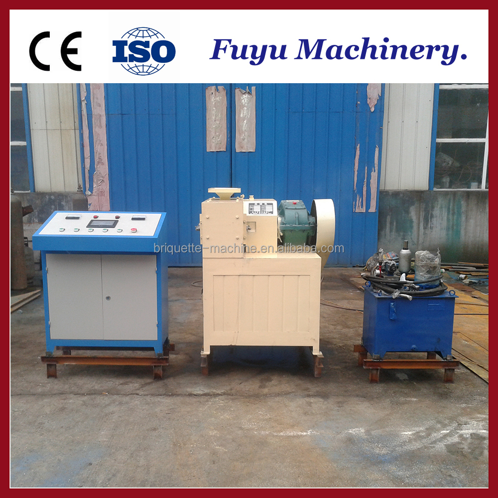 Hydraulic Type 290 bituminous coal ball briquette press machine / Coal fines briquette making machine for laboratory