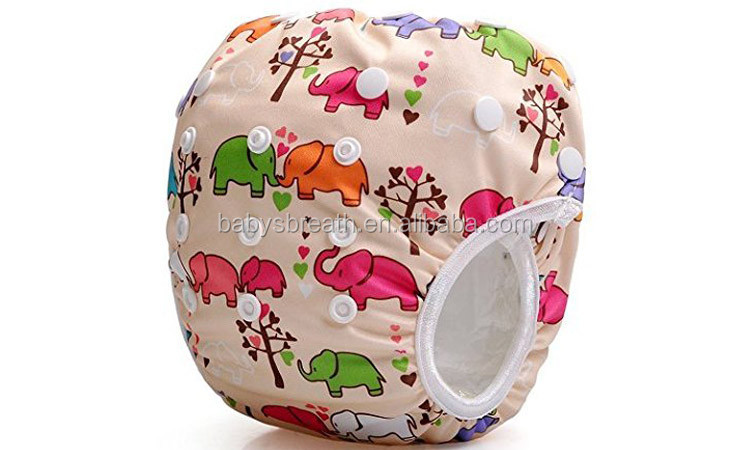 BCD103 New Design Washable Baby Swimming Pants Reusable Swim Diapers