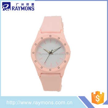 2017 new wrist watch clock for lady with good service