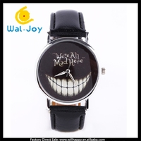 WJ-5166 wholesale cheap fashion big fang face ladies quartz concept watch no number