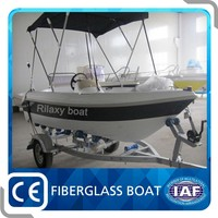 Made in China fibreglass fishing boat 12ft