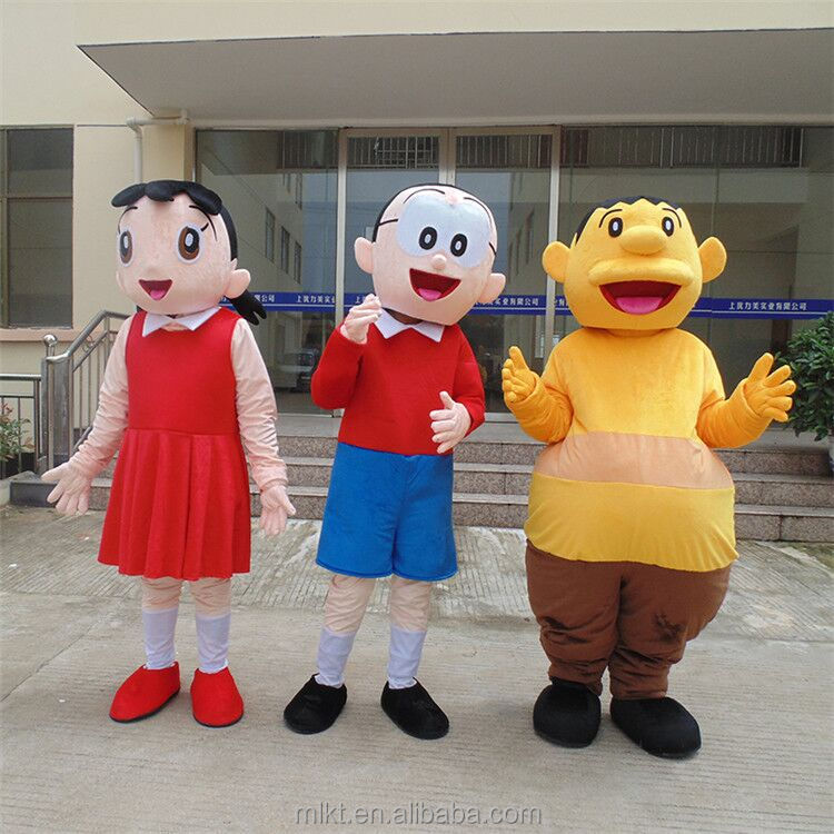 Wholesales cheap mascot costume adult people mascot costume doll mascot costume for family