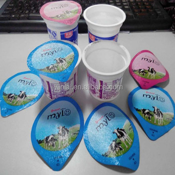 high quality yogurt cups and foil lids