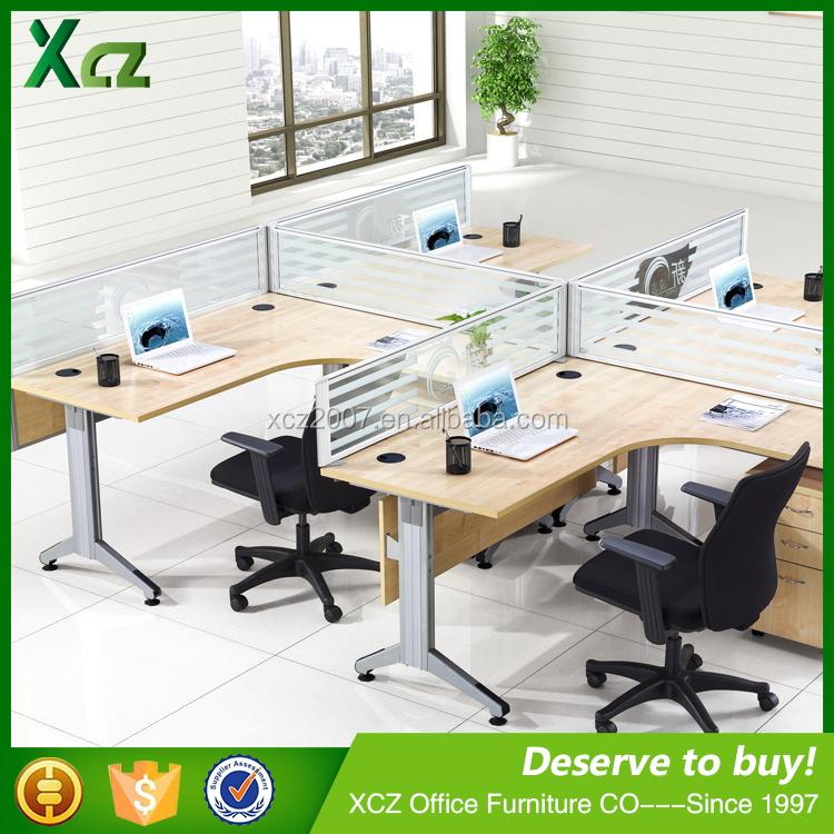 china modern design wooden modular office furniture office