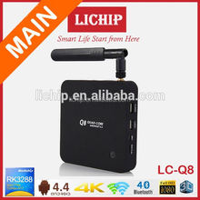 wifi bluetooth android tv box rk3288