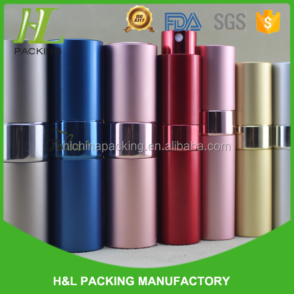 OEM chinese sex girl aluminium tube wholesale 10ml perfume spray bottle with free sample