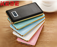 KEBE 2017 factory wholesale portable power bank 8000mAh battery case