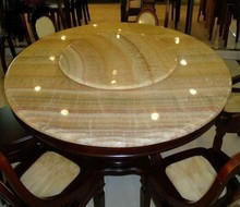Wood vein Round Marble Slab Table Tops, Laminate Vanity Tops, Marble Slabs