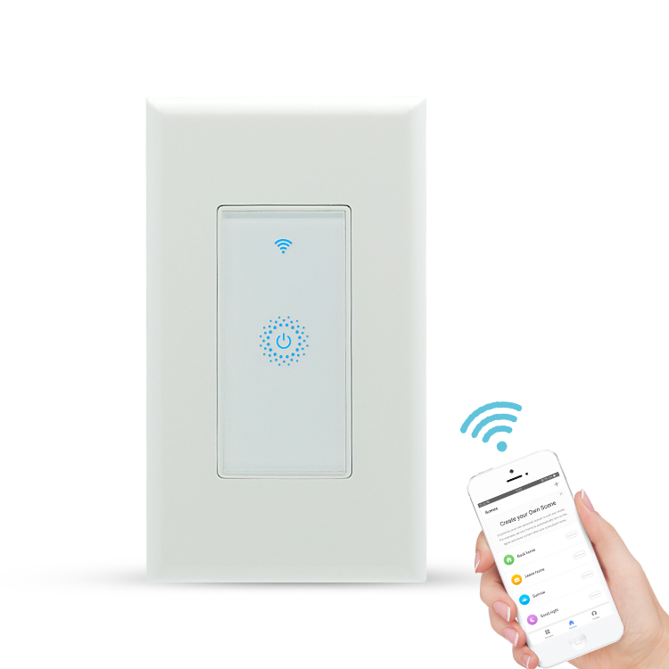 IOT smart touch wifi light <strong>switch</strong> with built in timer usa <strong>switch</strong>
