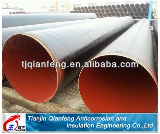 epoxy coal tar pitch steel pipe with high production