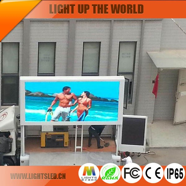 Shenzhen Factory Outdoor Advertising P8 Truck Mobile LED Display Van for Sale