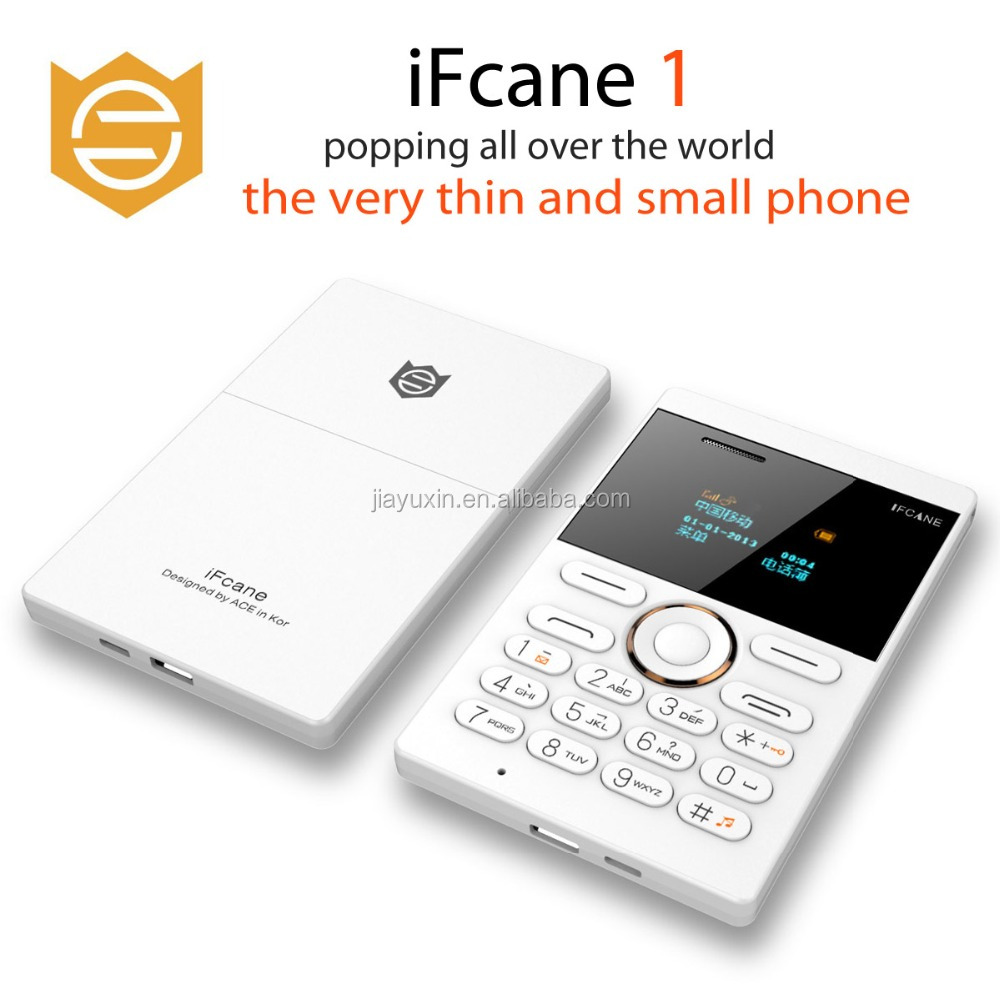 Russian Arabic Keyboard Korean IFcane e1 Mini Phone Ultra Slim Card Phone