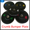 High temp crumb rubber plate Crossfit equipment