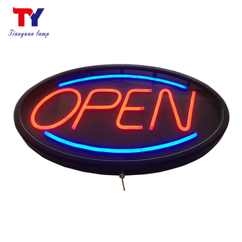 Custom Simulated LED Neon Open Sign