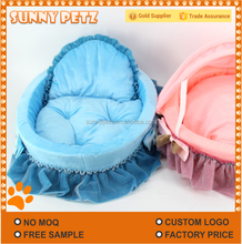 Portable Cat Bed Soft Lovely Cushion Hooded Pets Bed For Cats Kittens
