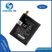 2500 mAh Chinese supplier high quality Mobile Phone Standard Replacement Battery for LG BL-T11 for LG F340/ G Flex