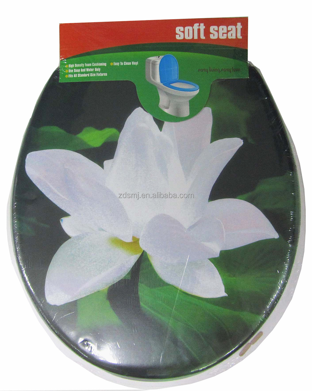 pvc Adult toilet seat cover/soft toilet seat cover/plastic toilet seat cover