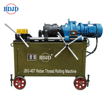 JBG-40T Rebar rod screw making machine/rebar thread rolling machine