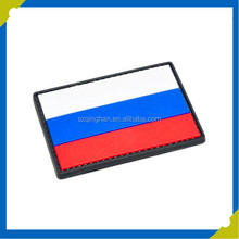 Customized Each Country PVC Military Patches Without Any MOQ