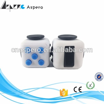 Wholesale Adult Magic Fidget Cube Relieves Stress desk toy music vision 2 spinner